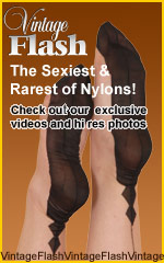 Our Models Wear Genuine RHT & FF-Nylons at Vintage Flash